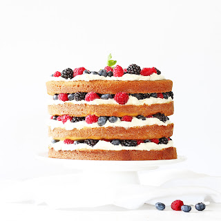 Triple Berry Layer Cake