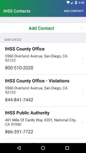 IHSS Help screenshot 4