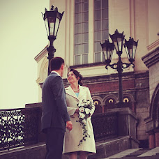 Wedding photographer Polina Beloborodova (Polinabelfoto). Photo of 22.10.2012