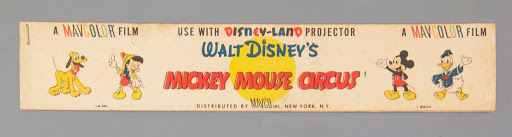 Film strip:Mickey Mouse Circus