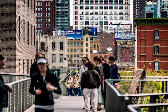Photo: A shot taken on New York's 'High Line' linear park during a visit in April.  #newyorkcityphotography