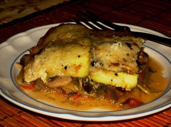 Goat Cheese Zucchini Lasagne (convection-toaster Oven) Recipe