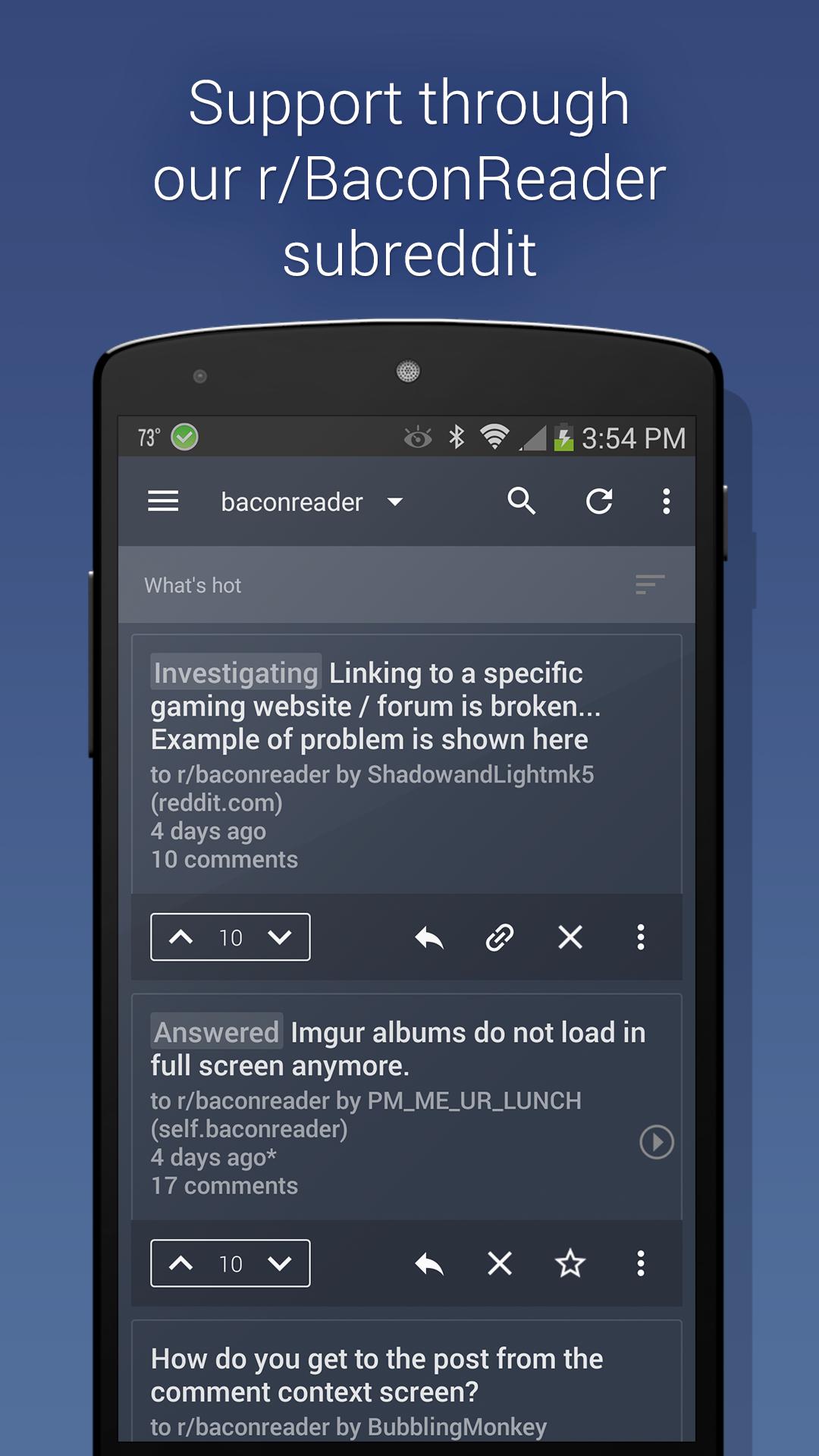 BaconReader Premium for Reddit screenshot #5