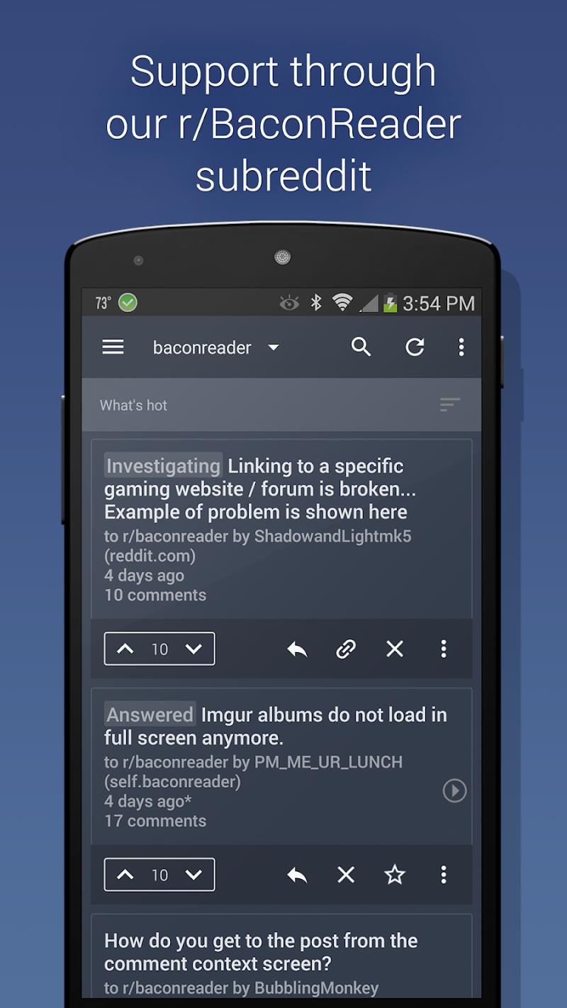 BaconReader Premium for Reddit Screenshot 4