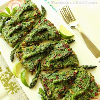Kookoo-ye Marchoobeh - Asparagus Frittata