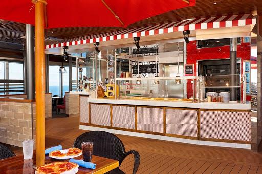 carnival-panorama-Pizzeria-Del-Capitano.jpg - Pizzeria del Capitano serves fresh pizza 24 hours a day aboard Carnival Panorama.