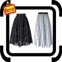 Modern Girly Skirt Design icon