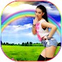 Rainbow Photo Frame APK icon