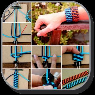 Bracelet Yarn Tutorial - náhled