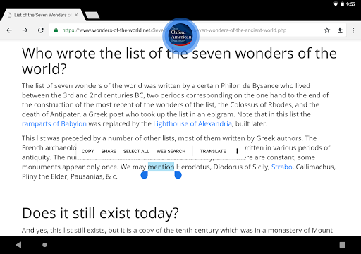 New Oxford American Dictionary  screenshots 12