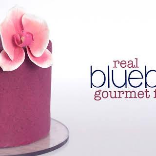 Gourmet Blueberry Almond Fondant.