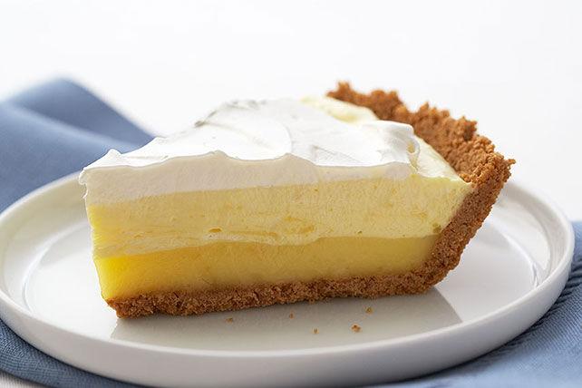Triple-Layer Lemon Pie Recipe