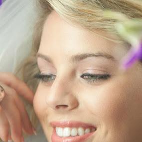 Beauty by Sharmila Narwani - Wedding Bride ( wedding, veil, smile, flowers, bride,  )