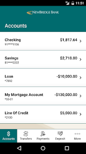 NewBridge Bank Mobile Banking- screenshot thumbnail
