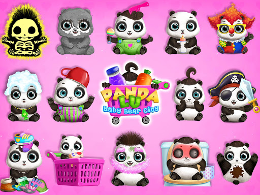 Panda Lu Baby Bear City - Pet Babysitting & Care 3.0.4 screenshots 9