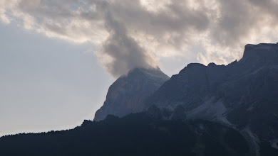 Photo: Burning mountain