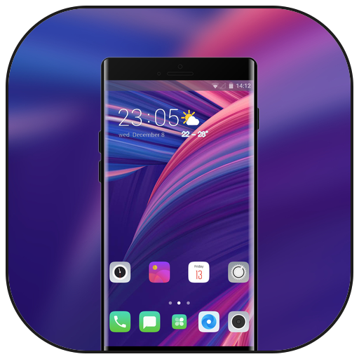 Theme for Oppo Realme 2 r17 shaping wallpaper icon