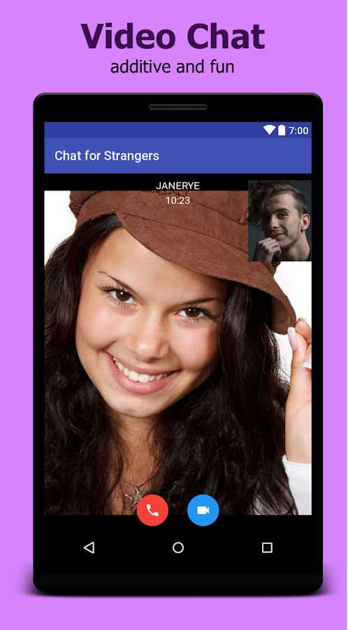 webcam chat stranger