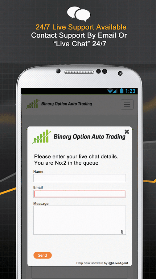 Binary Options Robot-Signals- screenshot