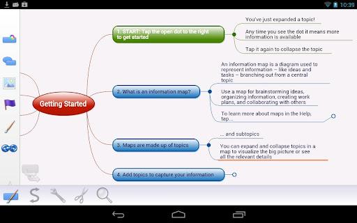 Mindjet for Android screenshot 6