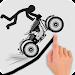 Stickman Racer Road Draw icon