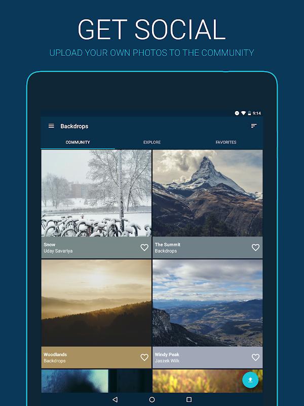 Backdrops - Wallpapers screenshots
