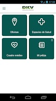 Screenshot of DKV Seguros Médicos