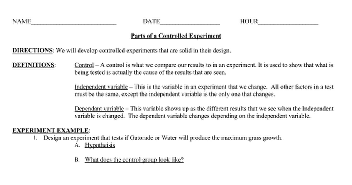 Controlled Experiment V2.doc - Google Docs