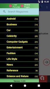 Worldwide Magazines Online - náhled