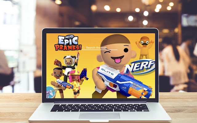 Nerf Epic Pranks HD Wallpapers Game Theme