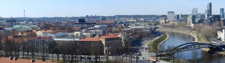 Photo: Vilnius. Nuo Gedimino bokšto.
