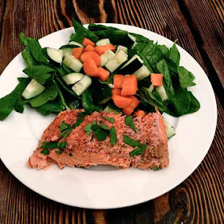 Ginger Baked Salmon.