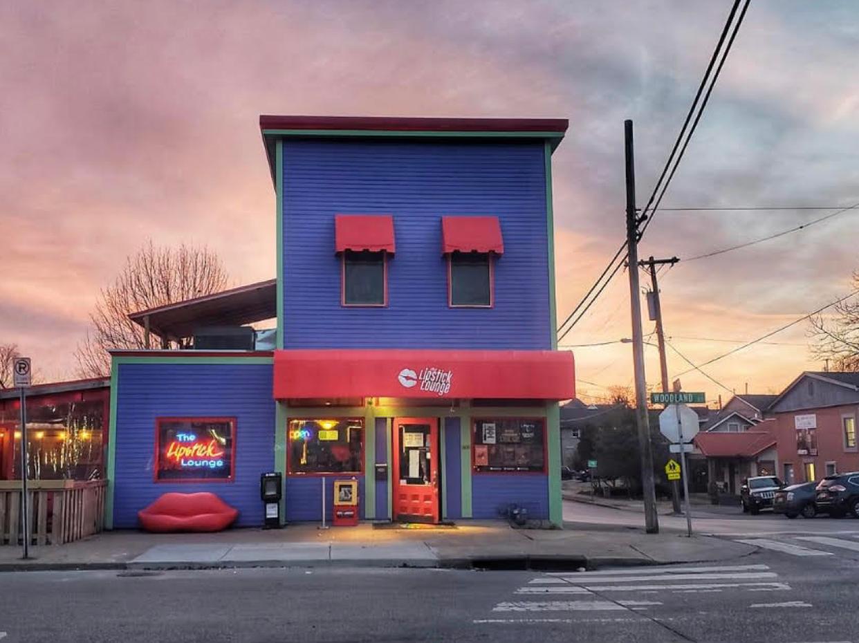 Lipstick Lounge bar in Nashville