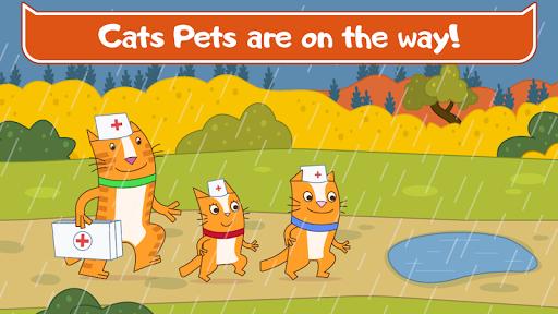 Cats Pets Animal Doctor Games for Kids! Pet doctor  screenshots 4