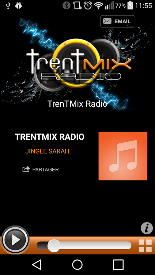 TrenTMix Radio- screenshot