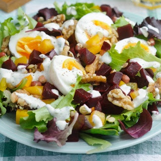 Beetroot Power Salad.