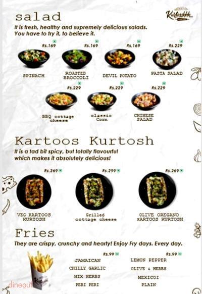 Kurtosshhh menu 3