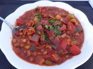 Kickoff Blackeyed Pea & Bacon Chili
