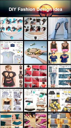 DIY时尚的设计理念