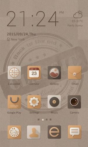 0 Classic Theme - ZERO Launcher App screenshot