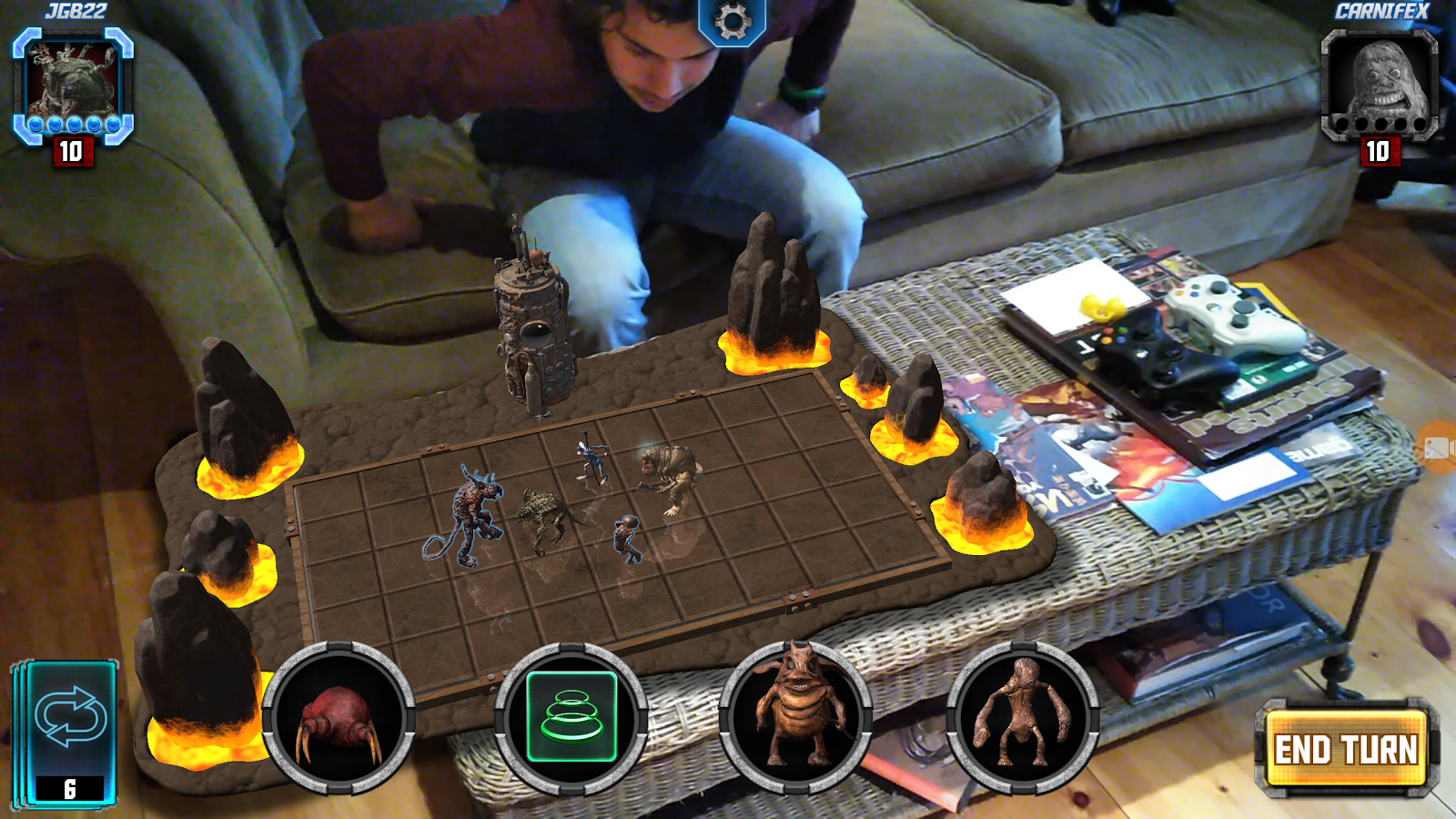 Augmented Reality Board Game
