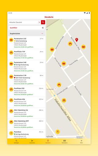 DHL Paket  screenshots 14