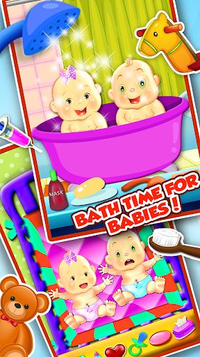 玩免費休閒APP|下載我的新雙胞胎嬰兒護理 app不用錢|硬是要APP