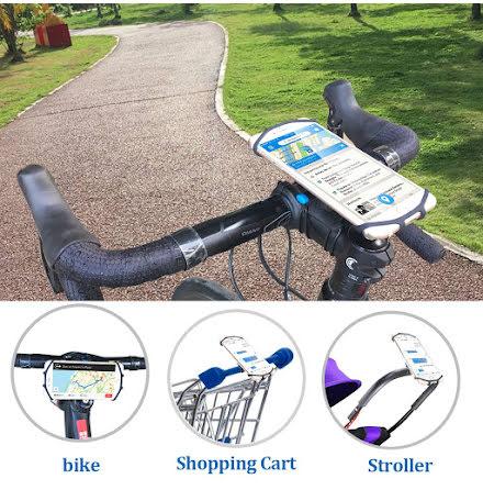 RL cykelhållare till mobil med stretchcase, universell