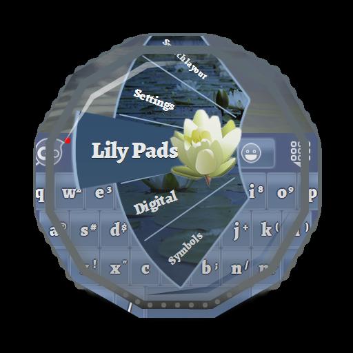 个人化のリリーパッド GO Keyboard LOGO-記事Game