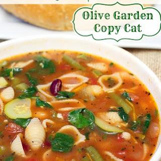 Instant Pot Olive Garden Minestrone.
