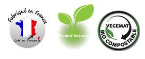 Des produits créés et fabriqués en France, proche de la nature.
