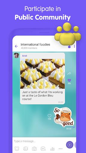 Viber Messenger - Messages, Group Chats & Calls screenshot 6