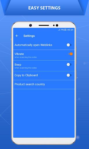 QR Code Scanner - Barcode Scanner 1.1 screenshots 6