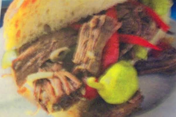 Italian Beef Sandwiches  A Crock Pot  Recipe!